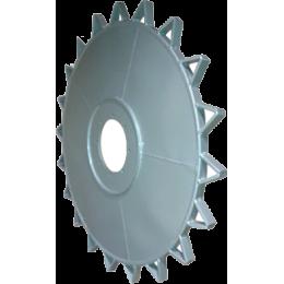 Железное колесо для рисовой техники